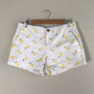 Adorable Old Navy Lemon shorts size 8